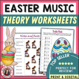 Easter Music Theory Worksheets