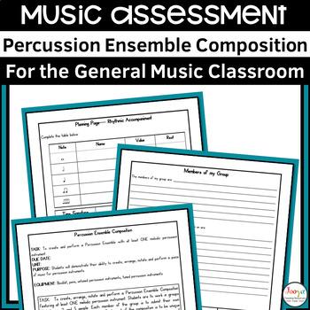 MUSIC - Elective Music Percussion Ensemble Composition
