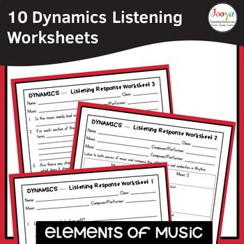 MUSIC- Elements of Music DYNAMICS Listening Analysis