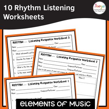 MUSIC- Elements of Music RHYTHM Listening Analysis