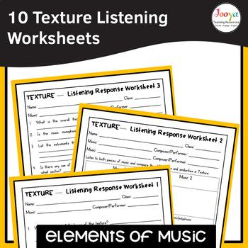 MUSIC- Elements of Music TEXTURE Listening Analysis