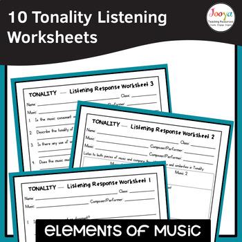 MUSIC- Elements of Music TONALITY Listening Analysis