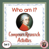 MUSIC COMPOSERS Research Activity Set 2
