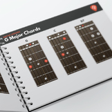 MUSIC: Guitar Major and Minor Chords Fretboard Diagrams