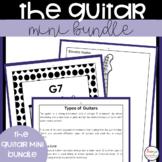 Guitar Music Worksheets and Lessons Mini Bundle