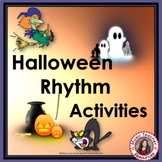 Halloween Rhythm Activities for Halloween Music Lessons