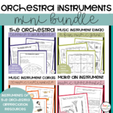 Instruments of the Orchestra Music Bundle