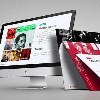 MUSIC: Jazz Masters—Dizzy Gillespie [PowerPoint Presentation w/ Quiz]