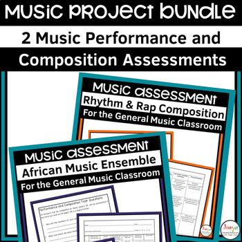 MUSIC- Junior Music Assignment Bundle