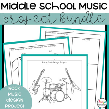 Middle School Music Assignment Bundle