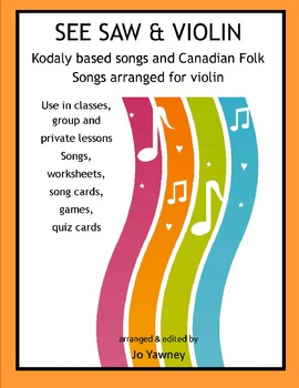 MUSIC Kodaly based Songs for Beginning Violin