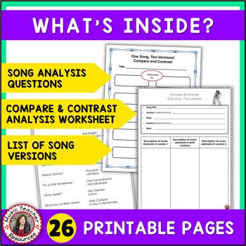 Music Listening Journal Worksheets by MusicTeacherResources | TpT
