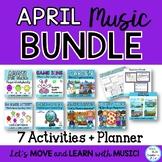 #springintolearning April Music Class Lesson Bundle: Lesso