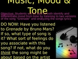 MUSIC MOOD AND TONE