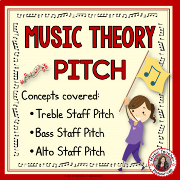 Music Game: Music Theory (Pitch) Match-Up Puzzles
