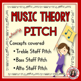 Music Theory Pitch Match-Up Activities