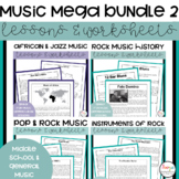 Music Worksheets & Lessons Mega Bundle 2