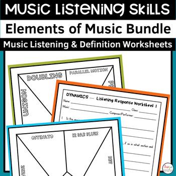 MUSIC - Mega Bundle of Listening Activities