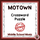 MUSIC GAME: Motown crossword puzzle