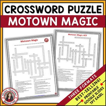 MUSIC GAME: Motown crossword puzzle