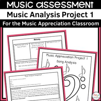 MUSIC: Music Analysis Assignment 1 - Listening, Research & Presentation