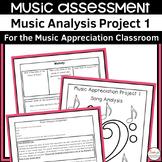 Music Analysis Project 1