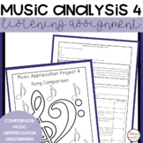 Music Analysis Project 4   Song Comparison