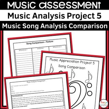 MUSIC: Music Analysis Assignment 5- Comparison Senior Version 2