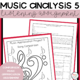 Music Analysis Project 5 | Song Comparison