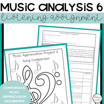 MUSIC: Music Analysis Assignment 6 - Comparison all Concepts Senior Version