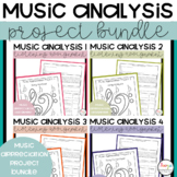 Music Analysis Project Bundle
