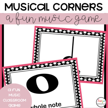 Music Game FREEBIE- Corners