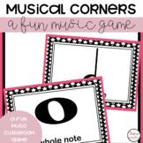 Music Game FREEBIE- Corners