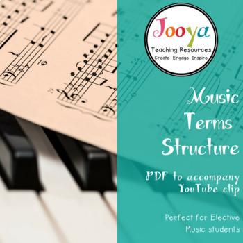 Music Terms Bundle