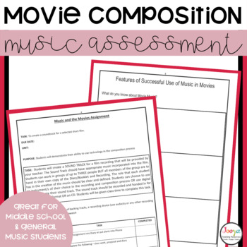 MUSIC - Music and the Movies Assignment