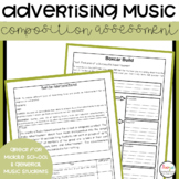 Advertising Music Composition and Performance Assignment