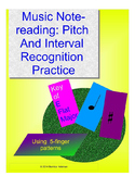 MUSIC NOTEREADING: PITCH & INTERVAL RECOGNITION PRACTICE SHEETS – E FLAT MAJOR