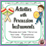 Music Composition: Percussion Charts and Composition Activities #2018MusicBronze