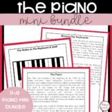Piano Worksheets & Lessons Mini Bundle