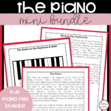 Piano Worksheets and Lessons Mini Bundle