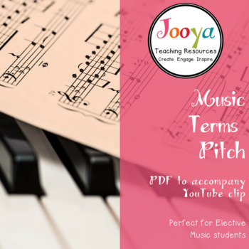 MUSIC: Pitch Terms