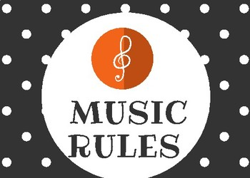MUSIC RULES...Back to School