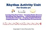 MUSIC Rhythm Activities Worksheets Unit