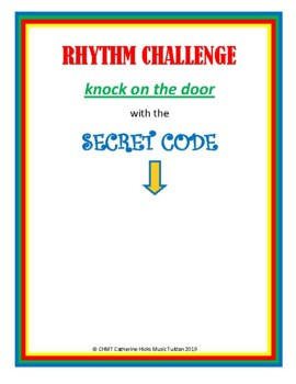 MUSIC Rhythm Challenge SECRET KNOCK