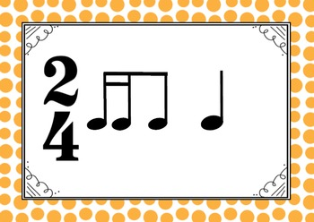 MUSIC- 2/4 Rhythm and Melody Cards for Performance and Composition
