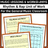 Rhythm and Rap Music Unit of Work
