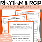 Music Lessons & Worksheets | Rhythm and Rap