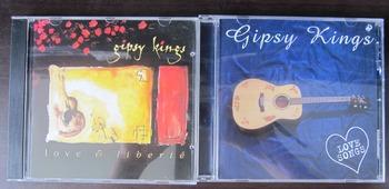 MUSIC SPANISH SONGS GYPSY KINGS CDs CD Love & Liberté + Lo