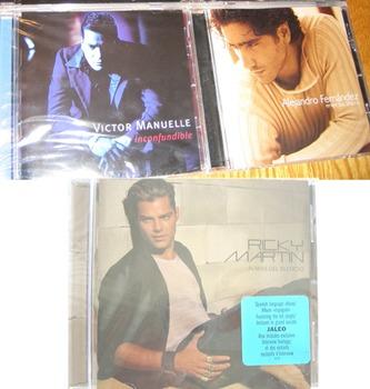 MUSIC SPANISH SONGS RICKY MARTIN ALEJANDRO FERNANDEZ VICTO