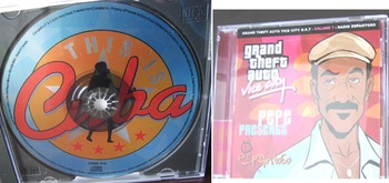MUSIC SPANISH SONGS various latin artists THIS IS CUBA Grand Theft Auto CD